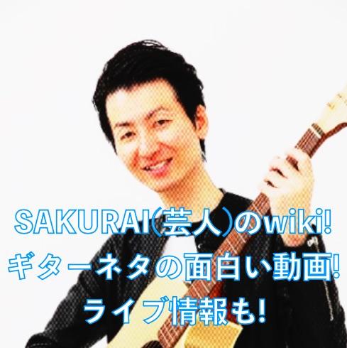 ギター 芸人 sakurai