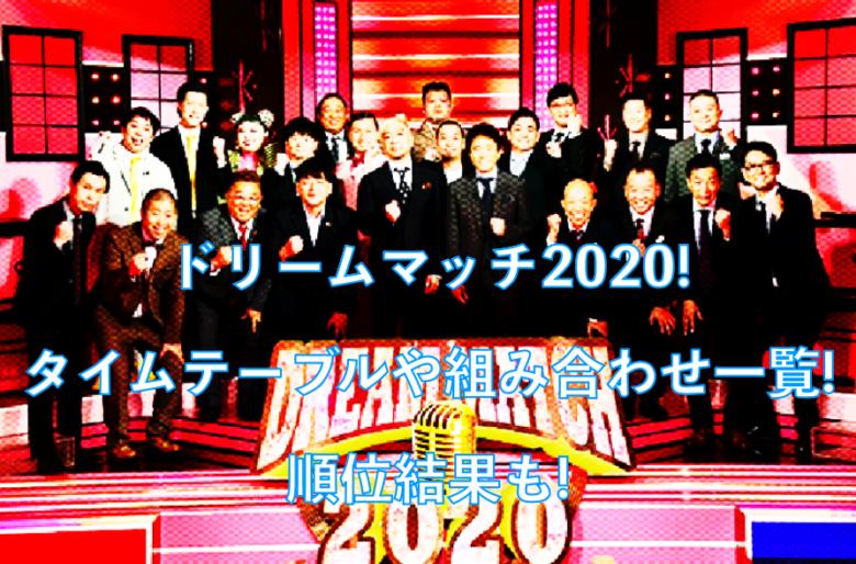 優勝 2020 ザ マッチ ドリーム